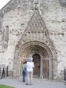 Carved doorway at Clonfert
