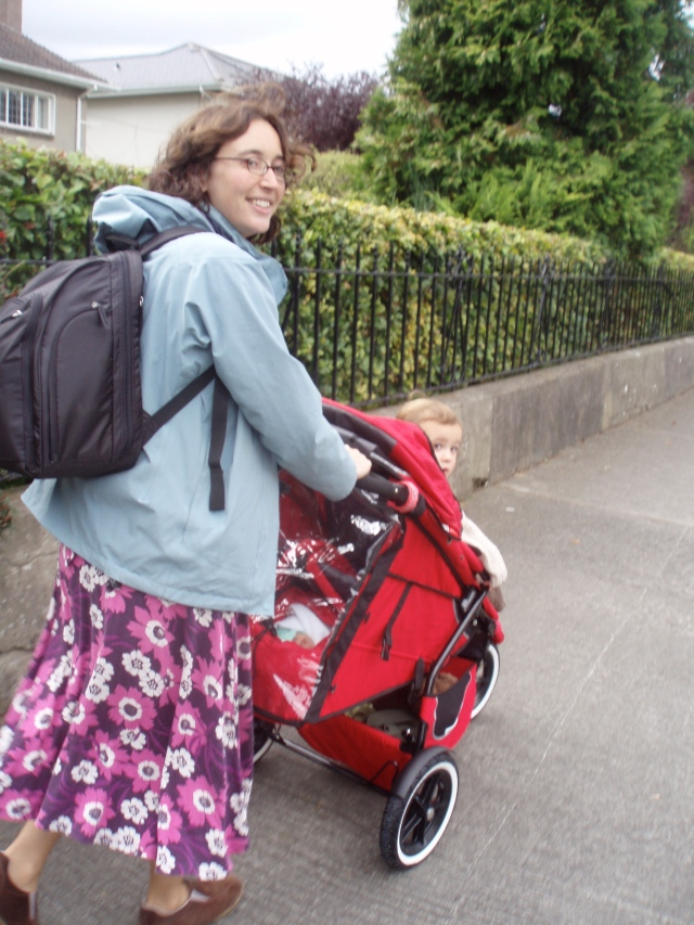 First outing for the exciting new double buggy.