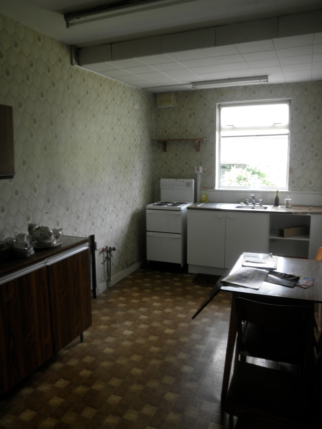 Kitchen needs a spot of attention, but it's quite big