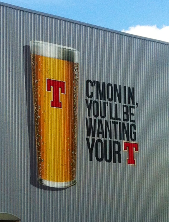 Tennents' Well Park Brewery, Glasgow.