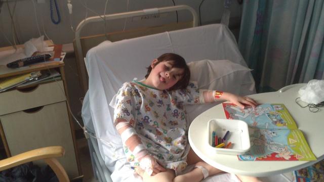 Hugh in hospital 1