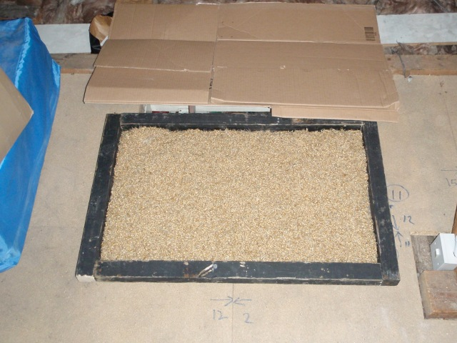 malt in position (from above)