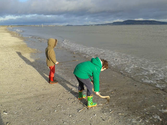 On Dollymount Strand