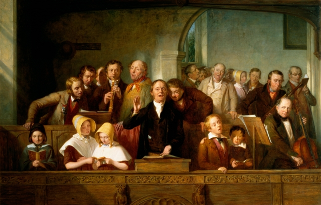 Thomas Webster, The Village Choir (c. 1847)