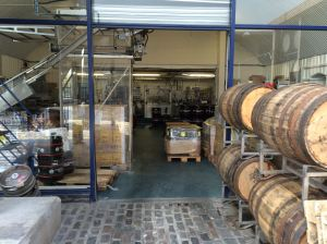 Camden Town brewery packaging room