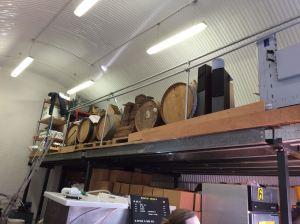 Loft space at Partizan brewery